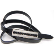 Cintura donna pellame lucido 442