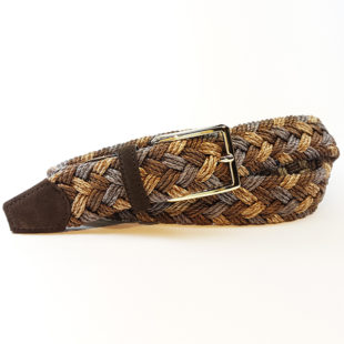 Men's Belt: Braided mélange belt -1154 -1